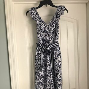 Vineyard Vines for Target Dress Navy and white